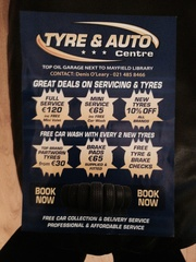 Cheap new tyres ,  partworn tyres